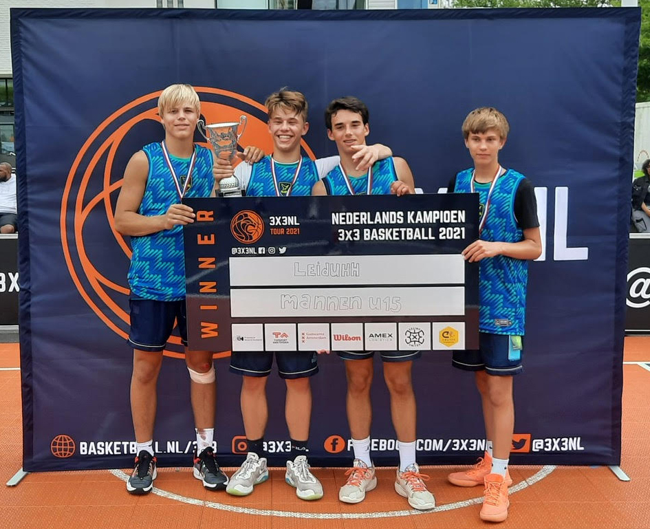 BS Leiden U16 wint NK 3x3
