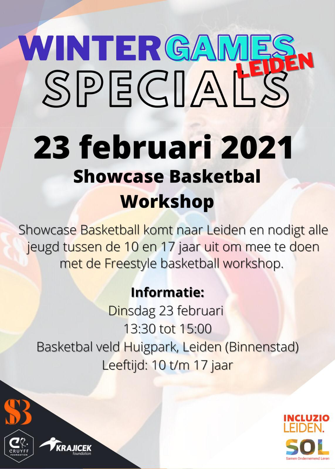 Showcase Basketbal Huigpark