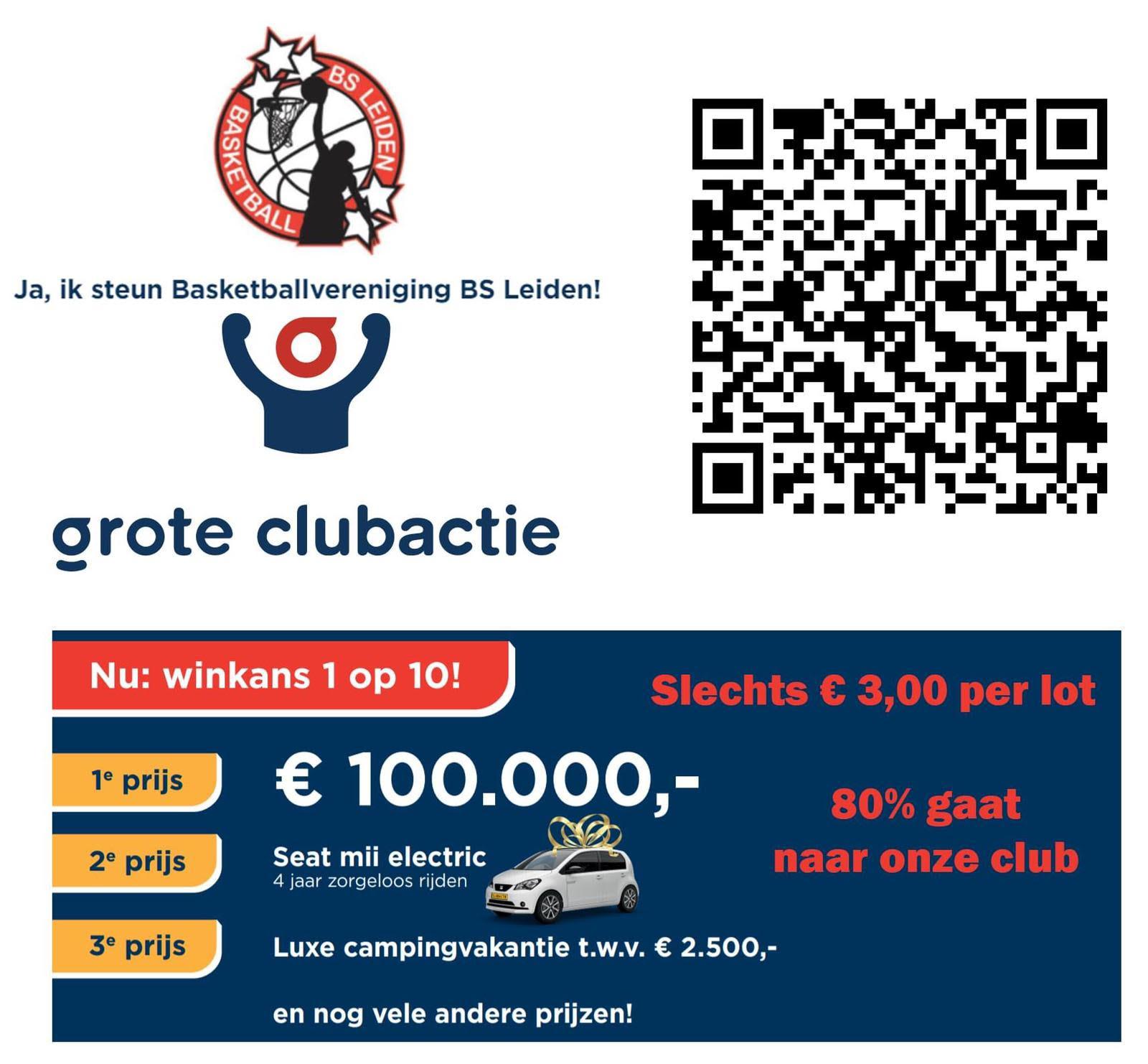 Koop loten voor Grote Clubactie