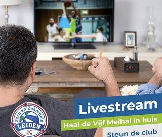 Gratis livestream ZZ voor alle leden van BS Leiden